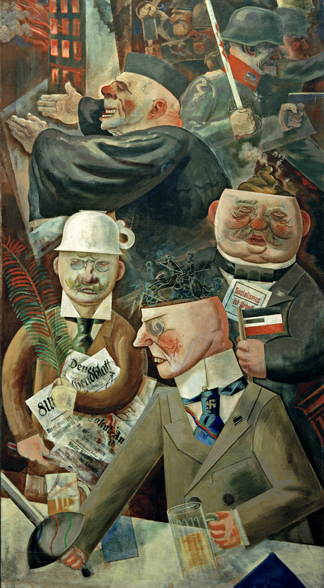 George Grosz, Pillars of Society